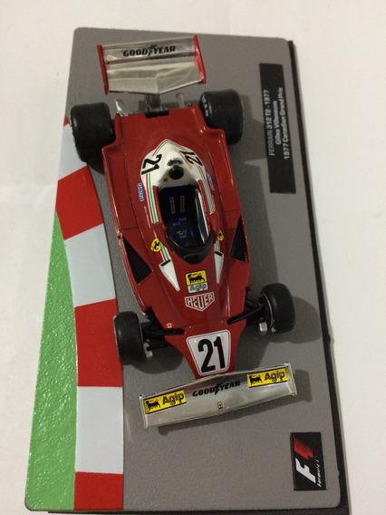 Ixo-altaya 1/43 Ferrari 312 T2 Gilles 77 Ñ Spark Minichamps