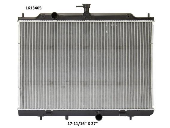 Radiador Chevrolet City 2017 2l Deyac T/a;t/m 26 Mm