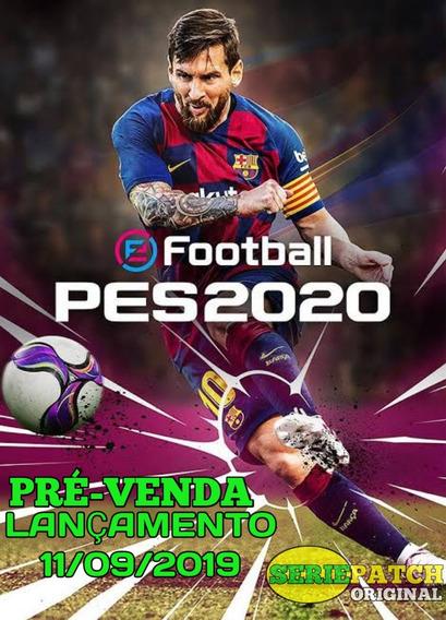 Patch Do Pes2020 Ps4 (pré--venda) Lançamento 11 De Setembro