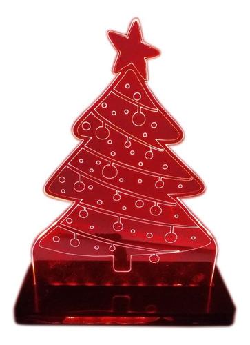 Imagem 1 de 8 de Luminária Arvore De Natal Led 3d - Natal 2020