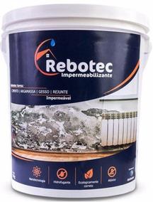 Rebotec 10.000gr Solução Para Lajes Trincas Reboco Tijolo Rj