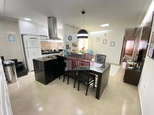 Imagem 1 de 23 de Cobertura Com 3 Dormitórios À Venda Por R$ 800.000 - Vila Bastos - Santo André/sp - Co0731