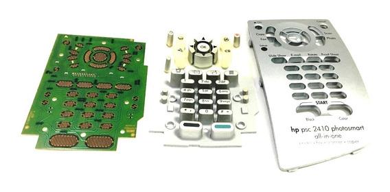 Placa Teclado Completo Impressora Hp Multifuncional Psc 2410