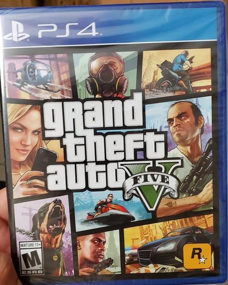 Grand Theft Auto 5, Ps4, Sellado