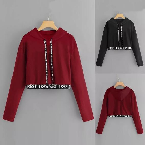 Sweater Crop Top Importado A La Moda 2020 Oferta!!