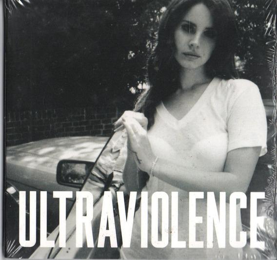 Cd Lana Del Rey Ultraviolence Série Deluxe Digipack Lacrado