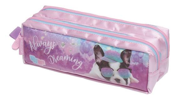 Estojo Duplo Pack Me Puppy Dog Pacific