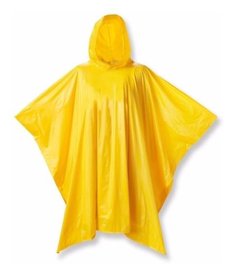 Poncho Amarillo Impermeable Para Lluvias