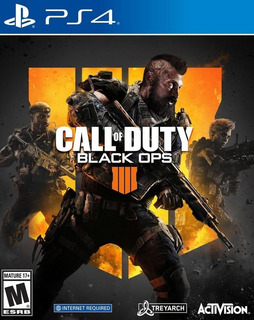 Call Of Duty Black Ops 4 Juego Original Físico Ps4 Stock Ya