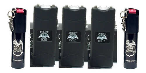 Stun Gun Paralizador Chicharra Kit De 3 Piezas+ 2 P1m13nt4