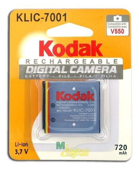 Bateria Original Kodak Klic-7001