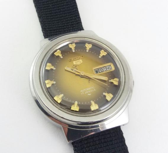 Relógio Seiko 7009 8190 Marrom