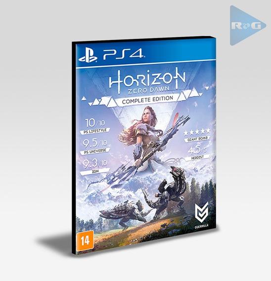 Horizon Zero Dawn Complete Edition Ps4 - Envio Agora