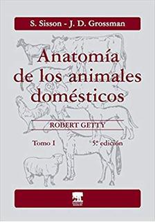 Envío Gratis. Sisson. Anatomía Animales Domésticos 1 5ed
