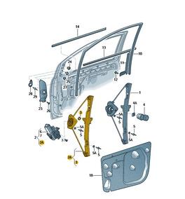 Manivela Sem Motor Spacefox Fox 5z4837461a