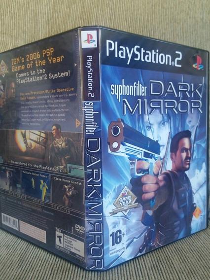 Ps2 Syphon Filter Dark Mirror Para Playstation 2 - Patch