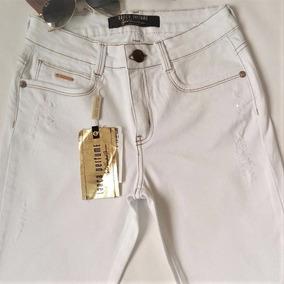 Calça Lança Perfume Jeans Claro Skinny Promoção Feminina