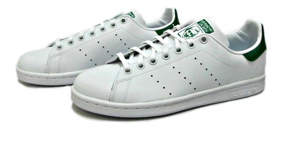 Tenis adidas Stan Smith Blanco-verde M20605