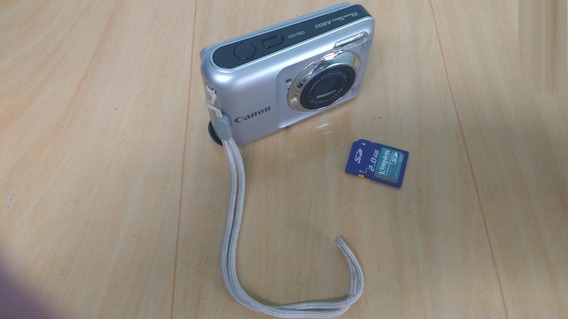 Canon Powershot A800 10 Mp Digital Camera With 3.3x Optical
