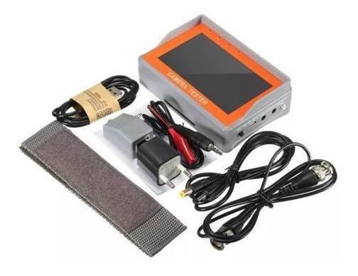 Monitor 4.3 Tester Camera Testador 4 Em 1 Cvbs/ahd/tvi/cvi