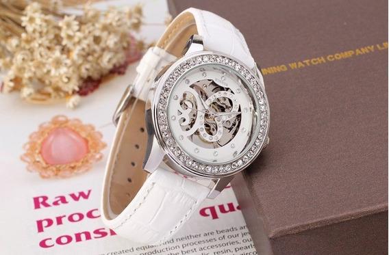 Relógio Feminino Luxo Winner Wrl8009m3s2