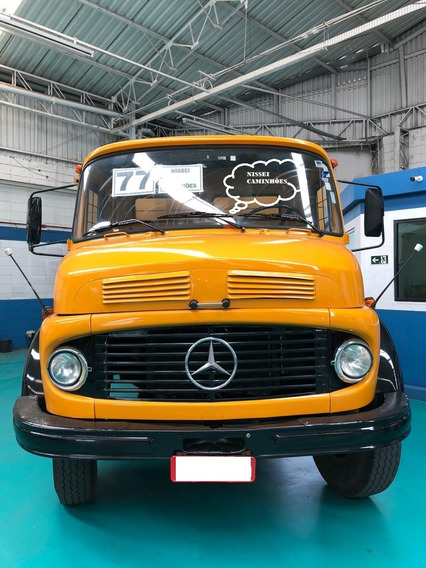 M.benz L 1113 Freio A Ar, Direção Hidraulica