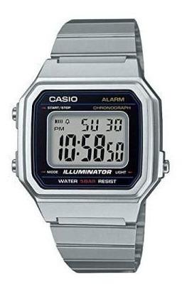 Relógio Casio Vintage B650 Prata