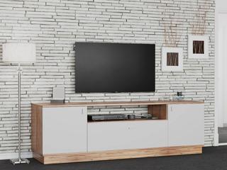 Mesa Tv Led 1.50 Mueble Rack Moderno Melamina Modular