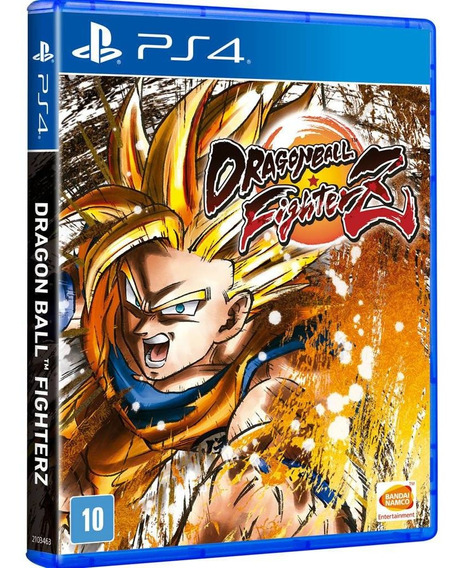 Dragon Ball Fighterz Ps4 Mídia Física Lacrada