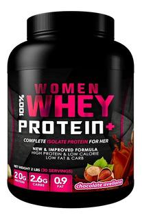Proteina Woman 100% Whey 2 Lbs (30 Serv)