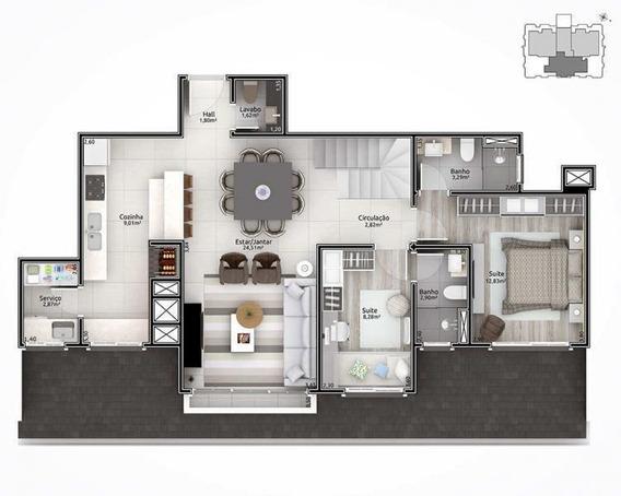 Apartamento Para Venda Em Lajeado, Planalto, 2 Dormitórios, 1 Banheiro, 1 Vaga - Mk009_2-995394