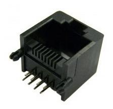 Modular Jack Rj45 P/ Pci - Fêmea - Bandeja Com 100 Und