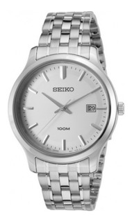 Reloj Seiko Sur141 Caball Acero Calendario 100m.garantía Of