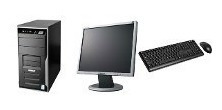 Cpu Dual Core 1 Gb Hd 80 + Monitor 15