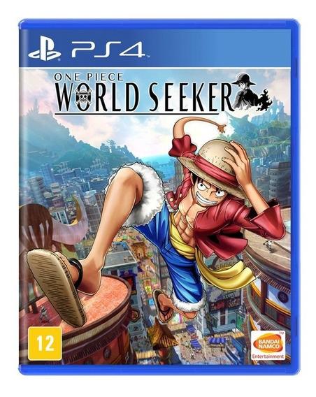 Jogo One Piece World Seeker Ps4 Lacrado