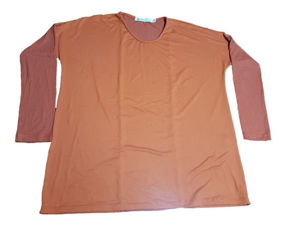 Remera Brandel Talle M Color Ladrillo