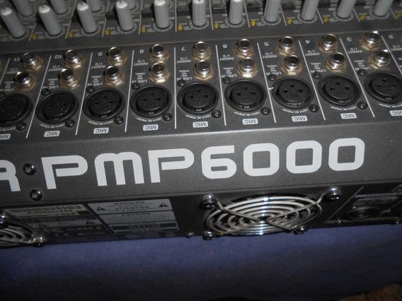 Mesa Behringer Amplificada Pmp 6000 1600 Watts Rms 20 Canais