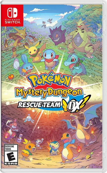 Pokemon Mystery Dungeon Rescue Team Dx Switch (en D3 Gamers)