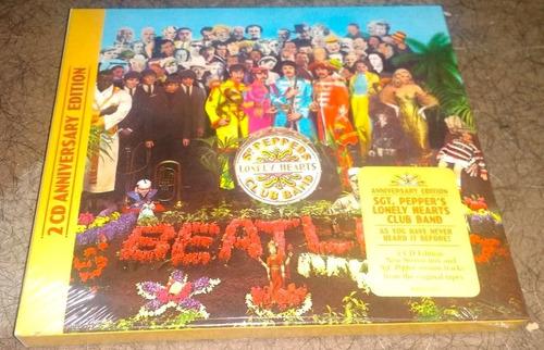Imagen 1 de 5 de The Beatles Sgt. Pepper's Lonely Hearts Club Band 2 Cd's
