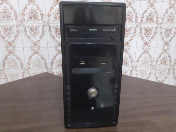 Cpu Intel Core 2 Duo 2.4ghz Hd 160 03gb Dvd Placa Asus