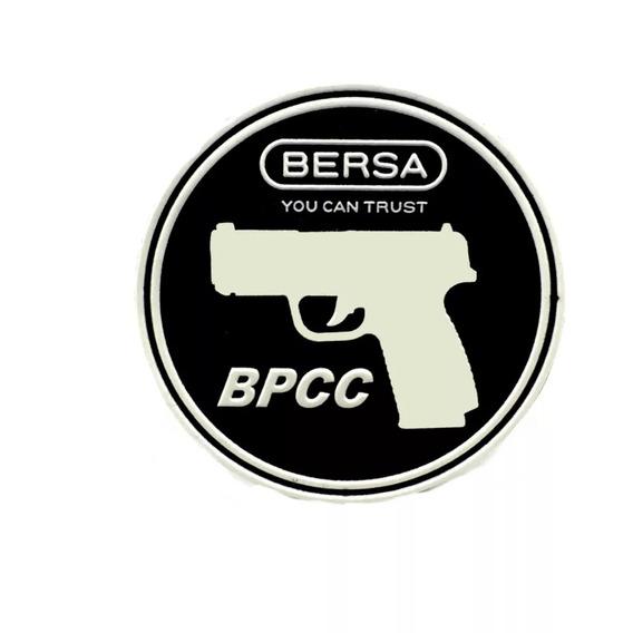 Parche Logo Bersa Bpcc Goma Con Velcro