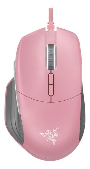 Mouse para jogo Razer Basilisk quartz pink