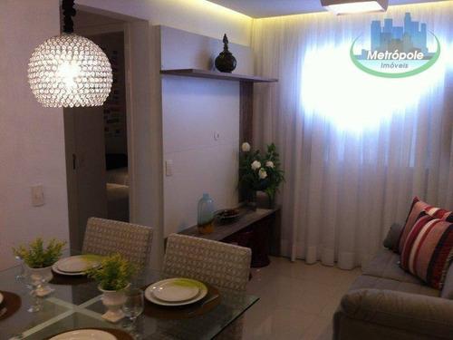 Apartamento Com 2 Dormitórios À Venda, 43 M² Por R$ 229.999,99 - Vila Itapoan - Guarulhos/sp - Ap1275