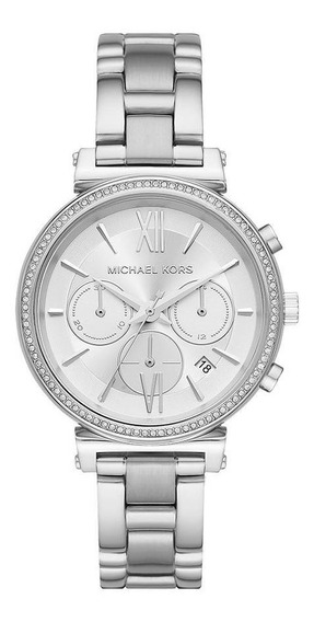 Relógio Michael Kors Feminino Sofie Prata - Mk6575/1kn