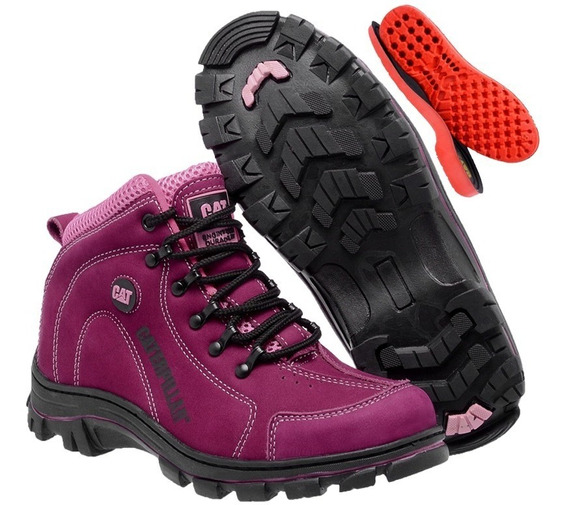 Coturno Adventure Caterpillar Cat Feminino Original!!!