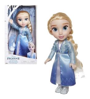 Muñeca Frozen 2 Elsa Aventurera Articulada 38cm Original