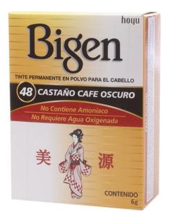 Tinte Bigen 48 Castano Cafe Oscuro