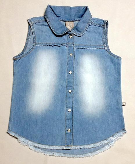 Blusa Jeans Infantil