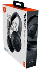 Fone De Ouvido Jbl Com Bluetooth T500 Bt Preto T500bt