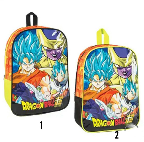 Mochila Dragon Ball Z 12 Pulgadas Original 02104346